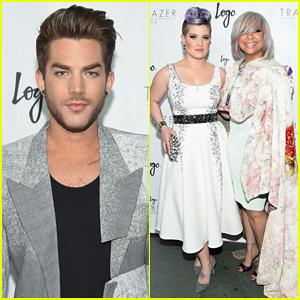 Adam Lambert, Kelly Osbourne & Raven-Symone Are Trailblazers at Logo Honors 2015!