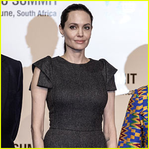 Angelina Jolie Attends African Union Summit in Johannesburg