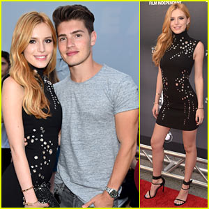 Bella Thorne Gets Gregg Sulkin's Support at 'Scream' Premiere