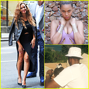 Beyonce Shares Photos & Video from Recent Family Vacation!