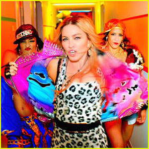 Madonna Releases Star-Studded 'Bitch I'm Madonna' Video!