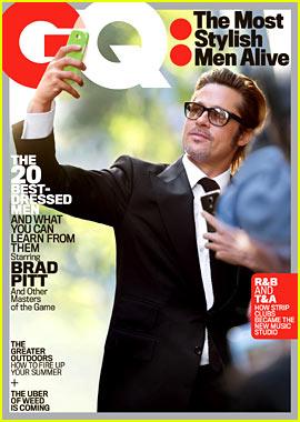 Brad Pitt & Ryan Gosling Top GQ's Most Stylish Men List!