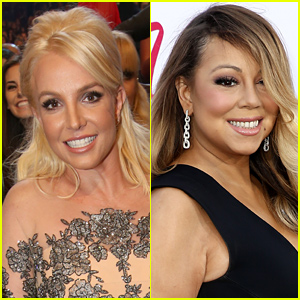 Britney Spears Says She Paints Topless to Mariah Carey Music, Mariah Later Responds!