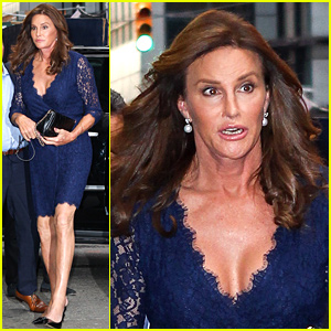 Caitlyn Jenner Flaunts Some Cleavage for Broadway Night!