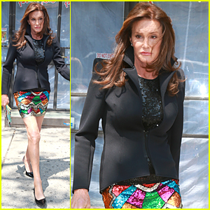 Caitlyn Jenner Looks Super Colorful In Her Second Outfit of the Day