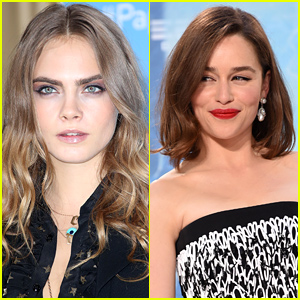 Cara Delevingne & Emilia Clarke Compete to See Who Has the Best Eyebrows in Hollywood!
