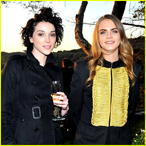 Cara Delevingne & Girlfriend St. Vincent - See Their Best Pics!