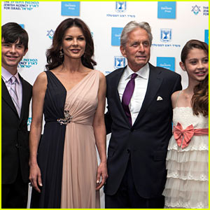Catherine Zeta-Jones & Michael Douglas Take Family Trip to Israel