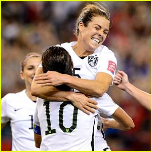 Celebrities React to USA Women's Soccer Semi-Final Win!