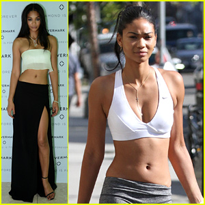 Chanel Iman Looks 'Dope' While Baring Her Toned Midriff