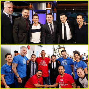 Channing Tatum & 'Magic Mike XXL' Cast Talk Seeing Each Other Naked on 'Jimmy Kimmel Live'