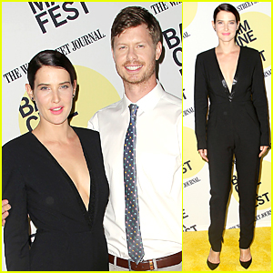 Cobie Smulders Gets Bombarded With Pregnancy Test Sticks at 'Unexpected' Premiere After Party!