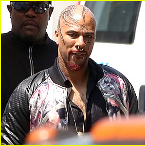 Common as Tattooed Man in 'Suicide Squad' - First Look Photos