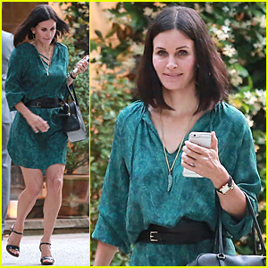 Courteney Cox's Beau Johnny McDaid Brings Attention to Her 51st Birthday