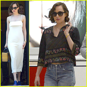 Dakota Johnson Enjoys Short & Sweet Trip to Barcelona
