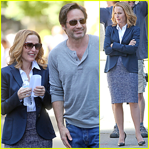 David Duchovny & Gillian Anderson Begin Shooting 'X-Files' Reboot in Vancouver!