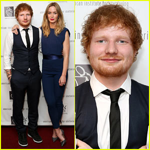 Ed Sheeran Gives Inspiring Speech on Overcoming His Stutter