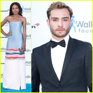 Naomie Harris & Ed Westwick Step Out For Walkabout Foundation Gala