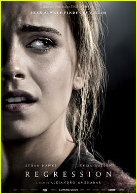 Emma Watson Looks Terrified on First 'Regression' Poster!