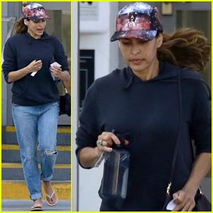 Amazing Eva Mendes Ryan Goslings Daughter Esmeralda Is Teething Eva Short Hairstyles Gunalazisus