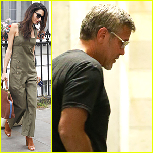 George Clooney Goes on American Roadtrip With Rande Gerber