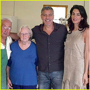 George Clooney Takes Wife Amal Home to Kentucky!