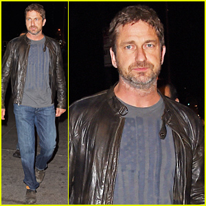Gerard Butler Has a Night Out in New York City