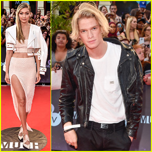 Exes Gigi Hadid & Cody Simpson Both Hit Up MuchMusic Video Awards 2015