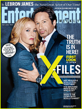 Gillian Anderson Explains Why She Is Wearing a Wig For 'X-Files'