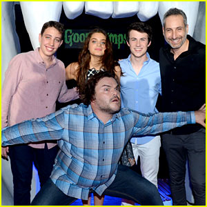 Jack Black Hams It Up at 'Goosebumps' Photo Call in Cancun