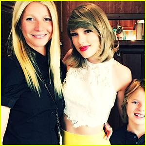 Taylor Swift Hangs Out with Gwyneth Paltrow & Her Son Moses At Her London Show!