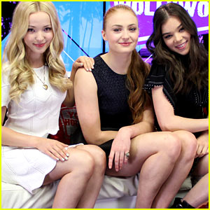 Hailee Steinfeld, Sophie Turner, & Dove Cameron Play 'Lose Da Lyrics' Guessing Game (Video)