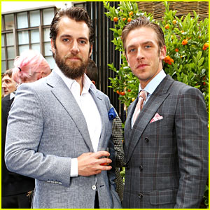 Henry Cavill & Dan Stevens Are Fashionable Studs in London!
