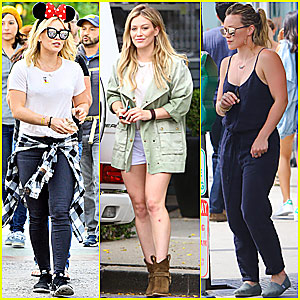 Hilary Duff 'Breathes In, Breathes Out' Disneyland With Her Fam