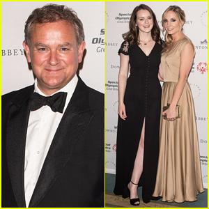 Hugh Bonneville & 'Downton Abbey' Cast Support Great Britain's Special Olympics Team at Gala Dinner!