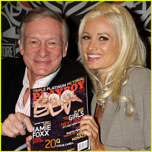 Hugh Hefner Says Holly Madison's Book is 'Rewriting History'