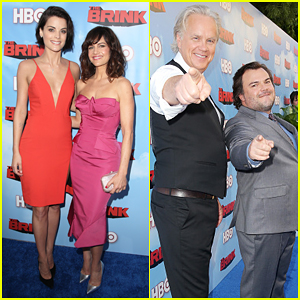 Jaimie Alexander & Carla Gugino Are Colorful Ladies at 'The Brink' Premiere!