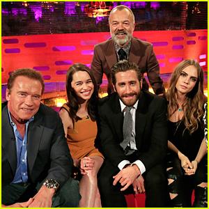 Jake Gyllenhaal Does Epic Impersonation of Arnold Schwarzenegger - Watch Now!