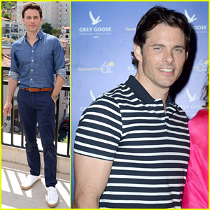 James Marsden Brings His Good Looks & Style to Italy