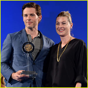 James Marsden Gets Honored in Italy By Pal Ellen Pompeo!