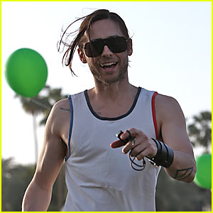 Jared Leto Launches 'Thirty Seconds to Mars' Summer Camp - Camp Mars!