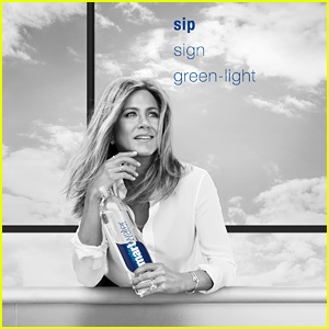 Jennifer Aniston's smartwater Campaign Celebrates Her Up Moments!