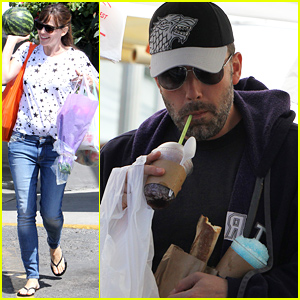 Jennifer Garner & Ben Affleck Spend the Day Together as a Family