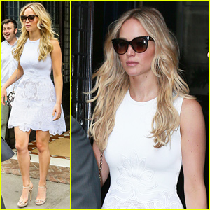 Jennifer Lawrence Looks So Summer Chic In Her Latest Look