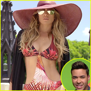 Jennifer Lopez Flaunts Super Sexy Body in Prince Royce's 'Back It Up' Music Video - Watch Now!
