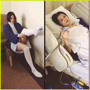 Jessie J Hospitalized for Mystery Operation, Posts Video