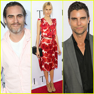Joaquin Phoenix, Isabel Lucas & Colin Egglesfield Bring 'Unity' To Los Angeles!