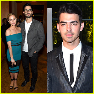 Joe Jonas & Brittany Snow Join the Fashion Crowd at CFDA Fashion Awards!