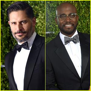 Joe Manganiello & Taye Diggs Bring the Handsome to the Tony Awards 2015