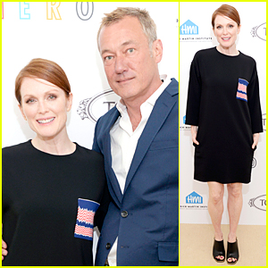 Julianne Moore Recognizes LGBT Youth at Perry Moore Hero Fundraiser